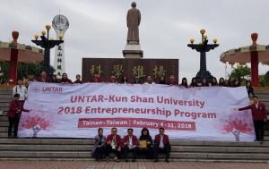 Program Enterpreneurship UNTAR-Khun San University Taiwan, 4-11 Februari 2018